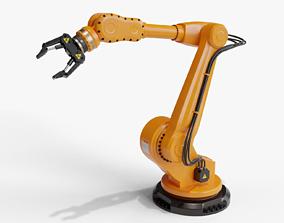 Industrial robot arm clean 3D model