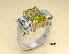Jewelry ring for women beautifule 3d model lego