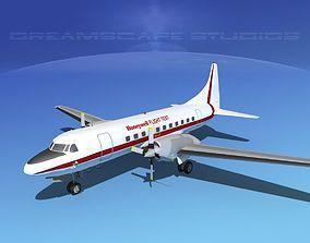 3D model Convair CV-580 Honeywell