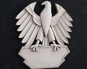 3D print model Eagle emblem art