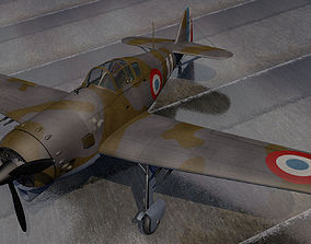 3D model Koolhoven FK-58A