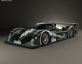 3D model Bentley Speed 8 2003