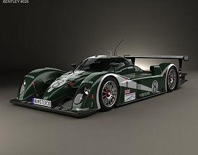 3D model Bentley Speed 8 2003