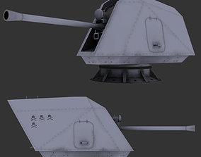 3D model Multi purpose gun 57mm MK 110