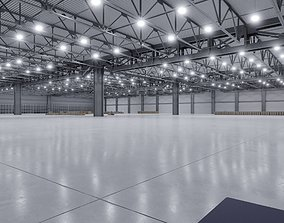 3D model Warehouse Interior 3b