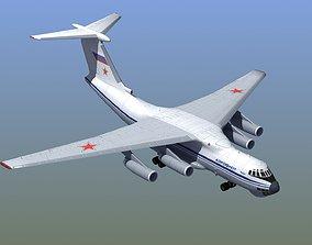 Il-76 Candid Aircraft 3D model