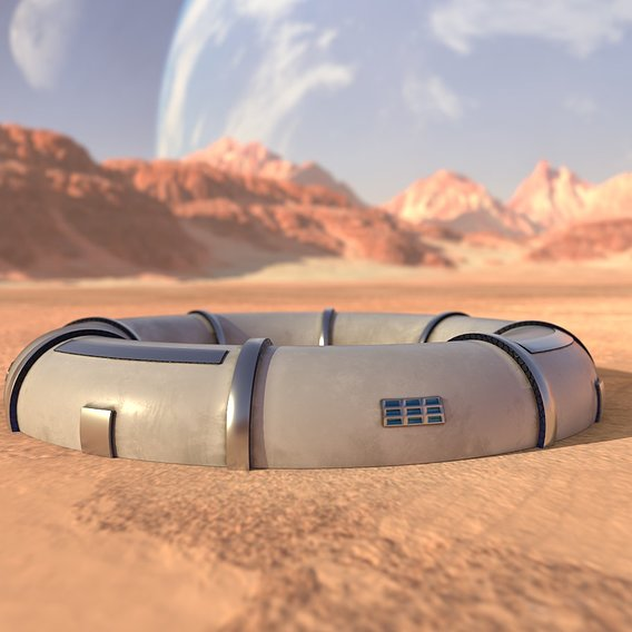 Mars module