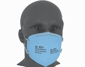 3D model 3M Protective Mask 2