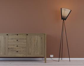 3D model Oslo Floorstanding Lamp