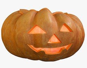 Pumpkin Clean Kind Emotion Candle 3D model