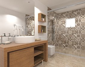bathroom 3D architectural