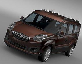 Opel Combo Tour LWB D 2015 3D