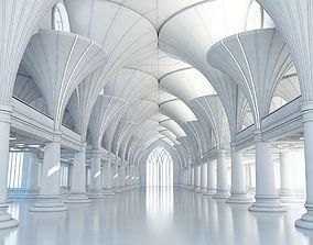 3D model Modern Classic Interior Scene 7