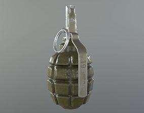 Grenade F1 3D asset