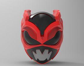 Psycho Rangers Helmet for 3D Printing