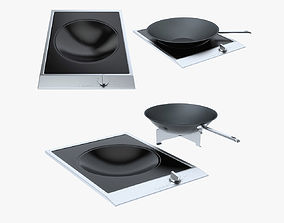 3D model Miele Hobs and CombiSets CS 1223-1 ProLine