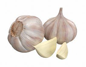 garlic 3D PBR