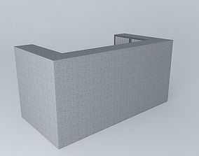 furniture Kitchen counter 3D