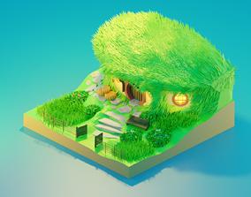 Bilbo Baggins House 3D model