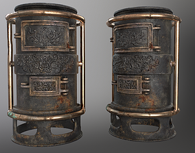 3D asset realtime Forge Alchemy Stove
