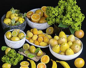 3D Fruits - Orange