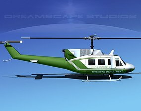 Bell 212 Knox County Sheriff 3D