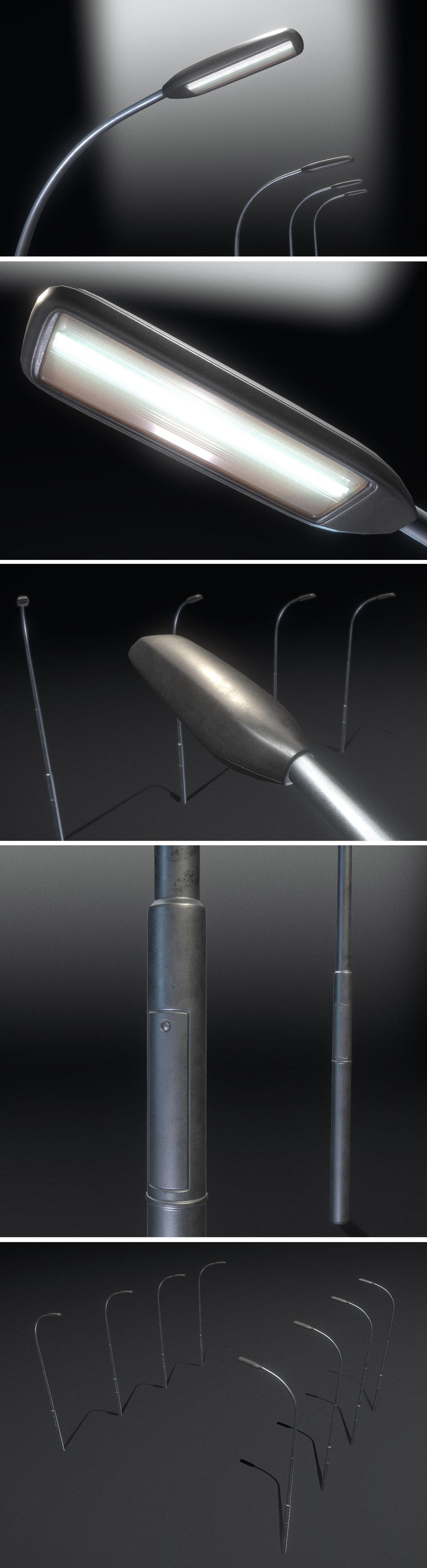 Street Light 11 (Pole 1) Version 2