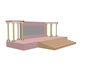 STAGE 3D MODEL interior