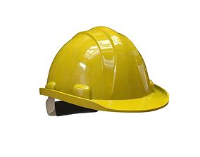 Worker Helmet 3D asset