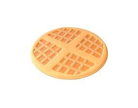 Hong Kong Style Waffle v3 001 3D asset