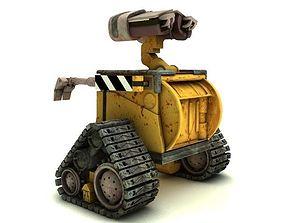 3D model Wall E Robot