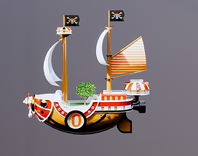 One Piece Luffy The Thousand Sunny 3D print model