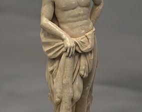 Hercules Greek Statue 3D asset low-poly