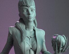 sculpture Evelynn from League of legends 3DPrint