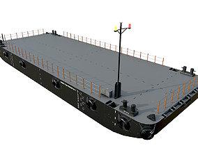 3D model DAMEN STAN PONTOON 30x11