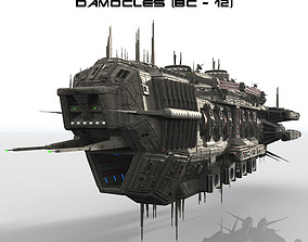CDF Damocles Battle Cruiser 3D