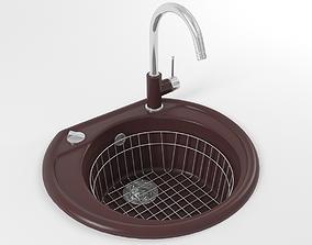 Kitchen sink 02 3D