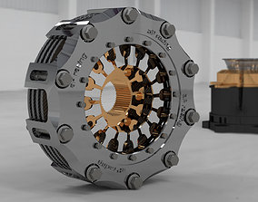 3D Formula 1 Clutch system aP racin
