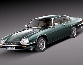 Jaguar XJS coupe 1975 3D