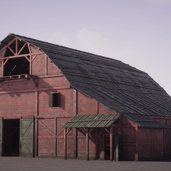 Old West Modular Barn