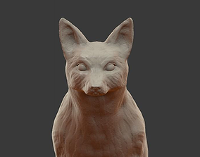 3D print model Fox sculpture
