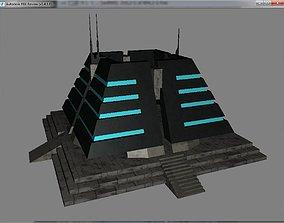 Pyramid Structure Sci-Fi 3D model