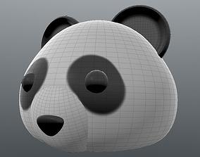 Emoji Panda 3D print model