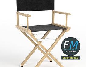Director chair 3D PBR