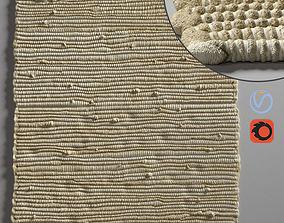 interior rope carpet 3D