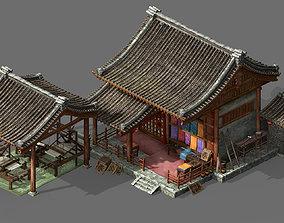 3D model Song Dynasty-Silk Workshop 01