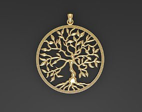 3D print model Pendants Tree of Life