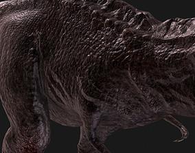 T-rex Animal Tyrannosaurus 3D asset rigged