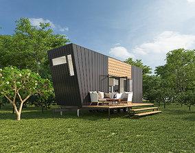3D model tree Tiny House
