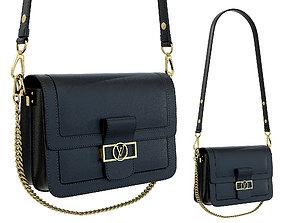 Louis Vuitton Dauphine Bag Black 3D model